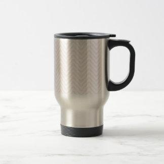 ZigZag Personalisable pattern Background Template Travel Mug