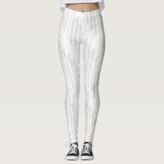 zigzag squares in gray... leggings