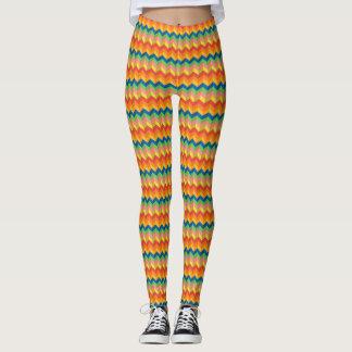 zigzag stripe leggings