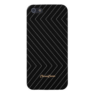 ZigZag Stripes Black Pattern Savvy Cover For iPhone 5