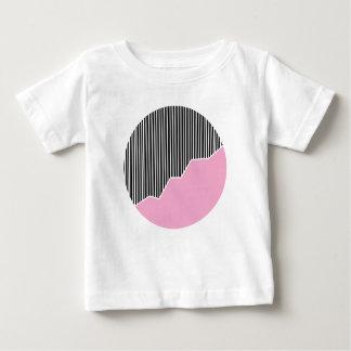 Zigzag & Stripes - Black, Pink & White Tees