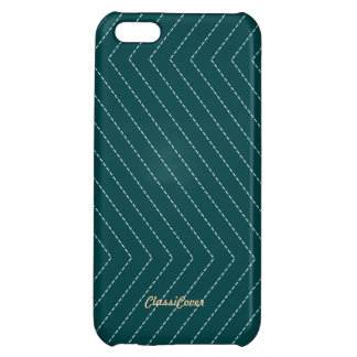 ZigZag Stripes Teal Green Pattern Savvy Cover For iPhone 5C