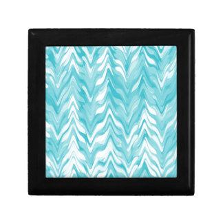 zigzag, watercolor, elegant, stylish gift box