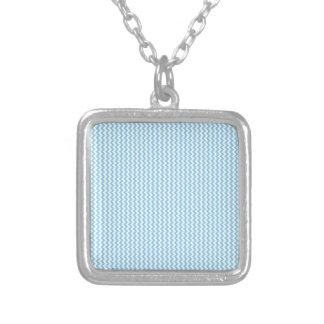 Zigzag - White and Baby Blue Custom Jewelry