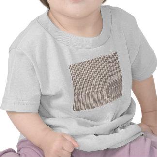 Zigzag - White and Beaver Shirt