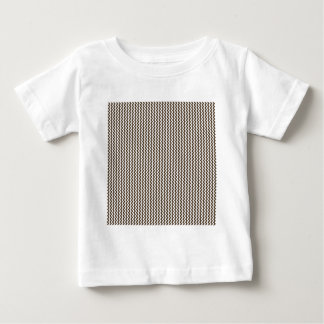Zigzag - White and Cafe Noir Tshirts