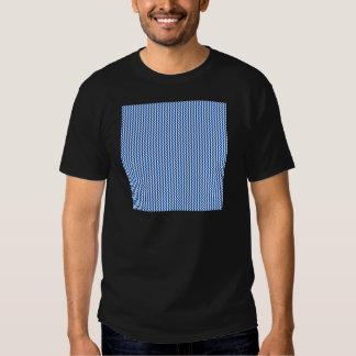 Zigzag - White and Cobalt Tee Shirt