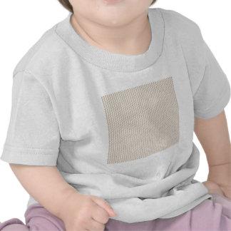 Zigzag - White and Dark Vanilla T Shirts