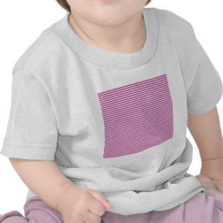Zigzag - White and Fandango T Shirt