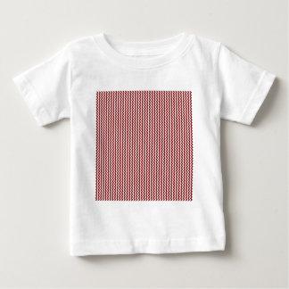 Zigzag - White and Maroon T-shirts
