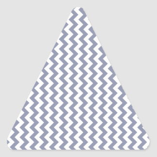 Zigzag Wide  - White and Cool Gray Stickers