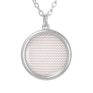 Zigzag Wide - White and Dust Storm Necklaces