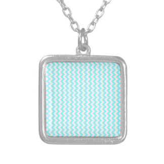 Zigzag Wide - White and Electric Blue Custom Jewelry