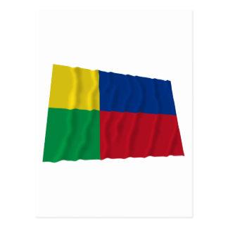 Zilina Waving Flag Postcard