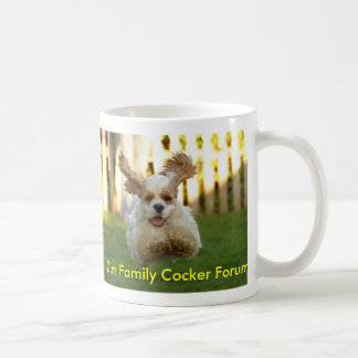 Zim Family Cocker Forum Coffee Mug