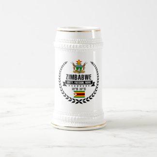 Zimbabwe Beer Stein