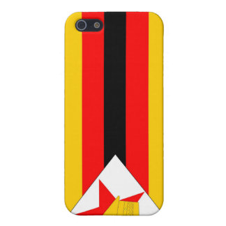 zimbabwe country flag case green yellow red black iPhone 5/5S cover