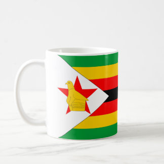 zimbabwe country flag nation symbol coffee mug