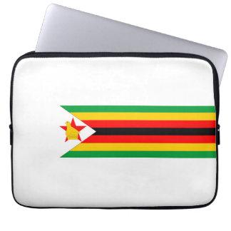 zimbabwe country flag nation symbol computer sleeves