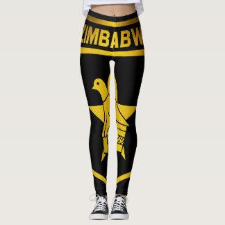Zimbabwe Emblem Leggings