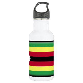 Zimbabwe Flag 532 Ml Water Bottle