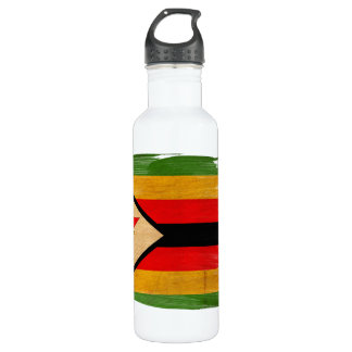 Zimbabwe Flag 710 Ml Water Bottle