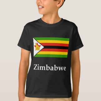 Zimbabwe Flag And Name T-Shirt