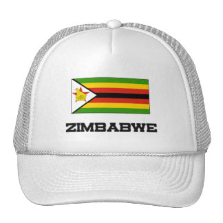 Zimbabwe Flag Mesh Hat