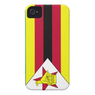 Zimbabwe Flag iPhone 4 Case-Mate Case