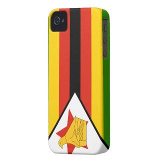 Zimbabwe Flag iPhone 4 Covers