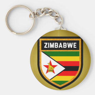 Zimbabwe Flag Key Ring