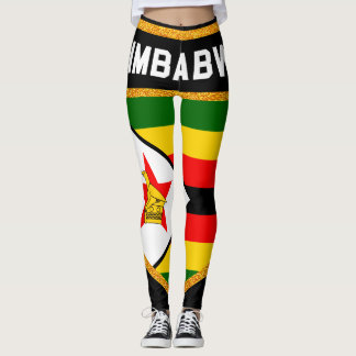 Zimbabwe Flag Leggings