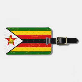 Zimbabwe Flag Luggage Tag