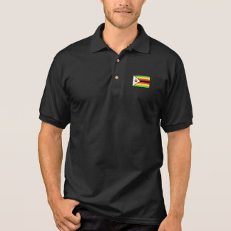 Zimbabwe Flag Polo Shirt