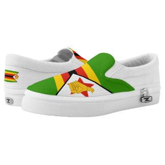 Zimbabwe Flag Slip-On Shoes