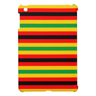 Zimbabwe flag stripes lines country colors cover for the iPad mini