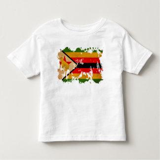 Zimbabwe Flag T Shirts