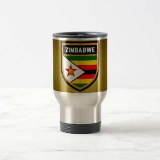 Zimbabwe Flag Travel Mug