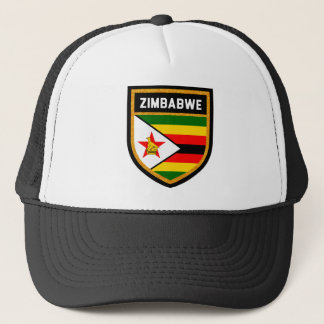 Zimbabwe Flag Trucker Hat