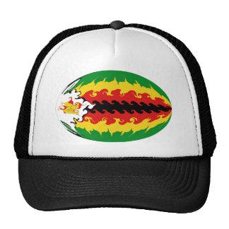 Zimbabwe Gnarly Flag Hat