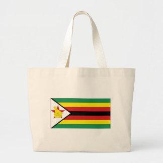 Zimbabwe National Flag Jumbo Tote Bag