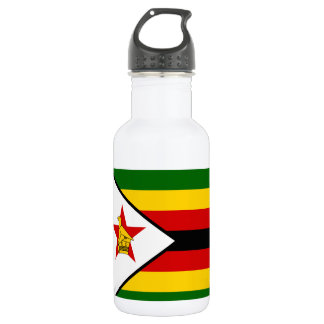 Zimbabwe National World Flag 532 Ml Water Bottle