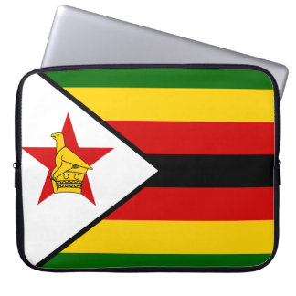 Zimbabwe National World Flag Laptop Sleeve