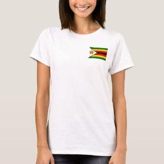 Zimbabwe National World Flag T-Shirt