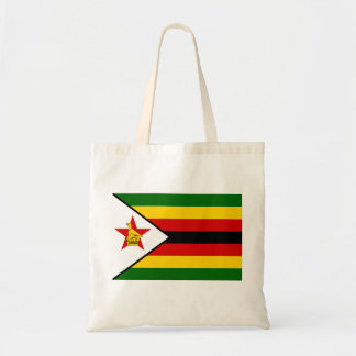 Zimbabwe National World Flag Tote Bag
