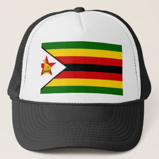 Zimbabwe National World Flag Trucker Hat