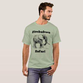 Zimbabwe Safari Elephant Tshirt