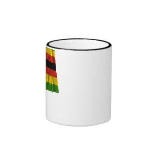 Zimbabwe Waving Flag Coffee Mug