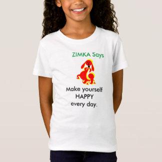 ZIMKA Say Girls' Sportswear Fine Jersey T-Shirt