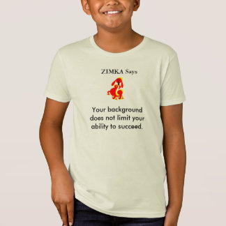 ZIMKA Says Kids' American Apparel Organic T-Shirt